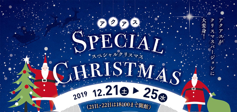 2019アクアスのスペシャルクリスマス
